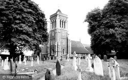 Twyford, Church Of St Mary The Virgin c.1969