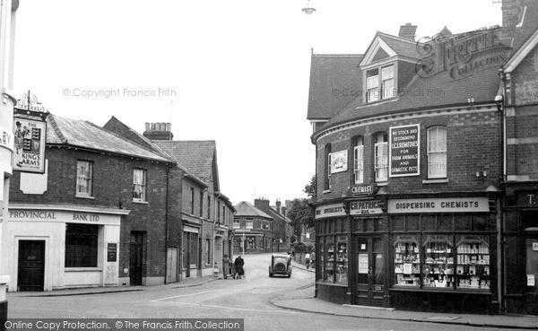 Twyford, Church Street c1955