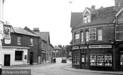 Twyford, Church Street c.1950