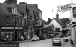 Twyford, High Street c.1965