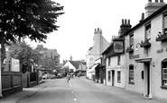 Twyford, London Road c1955