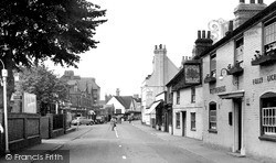 Twyford, London Road c.1955