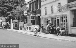 Twyford, Newberry's Newsagent, London Road c.1960