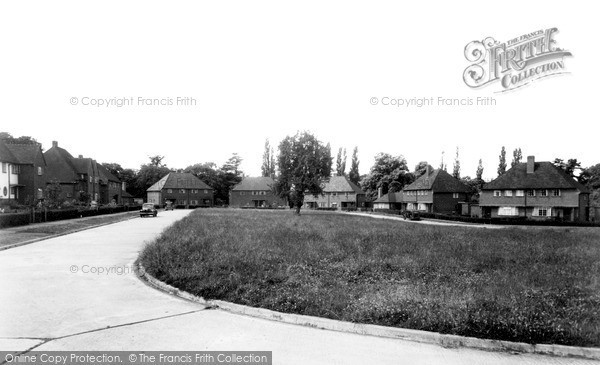 Twyford, Orchard Estate c1955