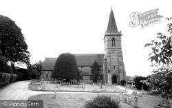 Twyford, Parish Church Of St Mary c.1965