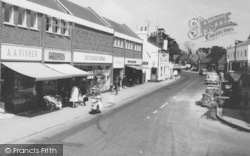 Twyford, Shopping On London Road c.1969