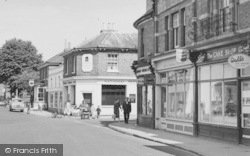 Twyford, Shops On London Road c.1960