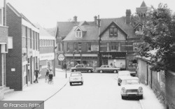 Twyford, Shops On London Road c.1969