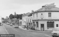 Twyford, The National Provincial Bank, High Street c.1969