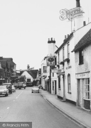 Twyford, The Royal Oak, London Road c.1965