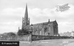 Parish Church c.1950, Tyldesley