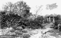 Park, The Bandstand c.1955, Tyldesley