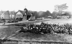 The Bowling Green And Clubhouse c.1955, Tyldesley