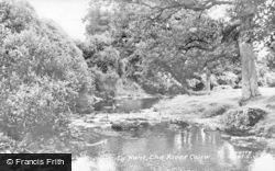 The River Ceirw c.1960, Tynant