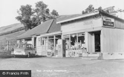 Tyndrum, The Store c.1960
