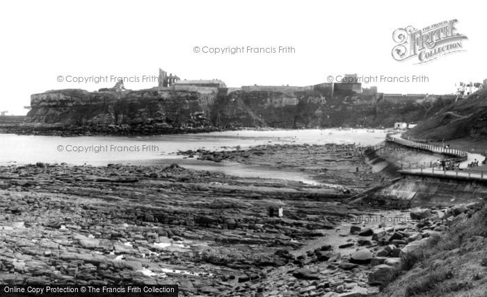Photo of Tynemouth, across the Bay c1955, ref. t142065