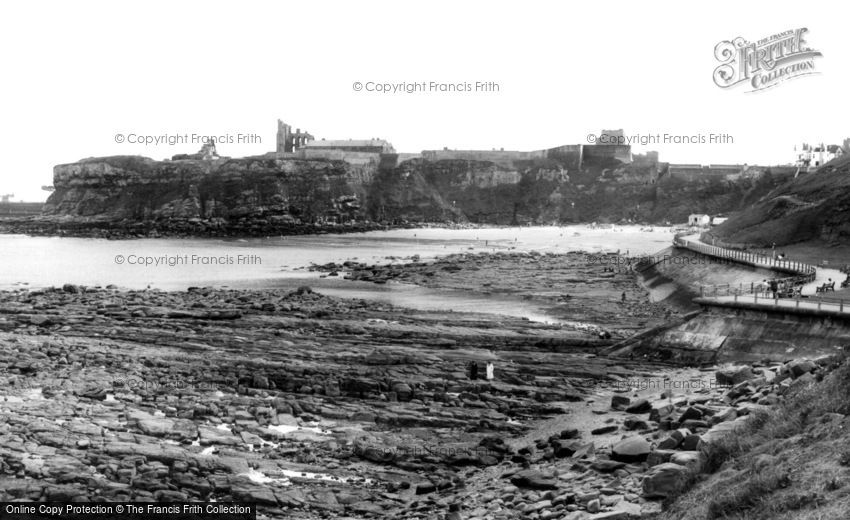 Tynemouth, across the Bay c1960