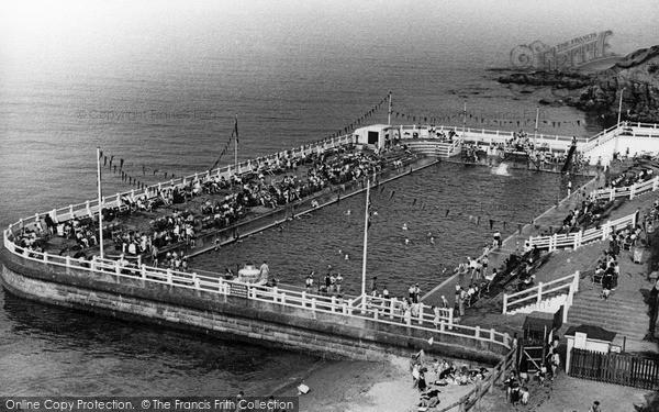 Photo of Tynemouth, Bathing Pool c.1955
