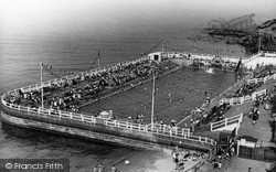 Tynemouth, Bathing Pool c.1955