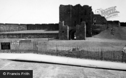 Tynemouth, Castle 1961