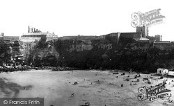 Tynemouth, Castle Across The Bay c.1955