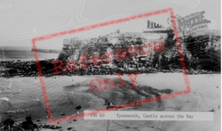 Castle Across The Bay c.1955, Tynemouth