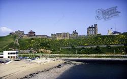 Castle, Priory And Coastguard Station c.1985, Tynemouth
