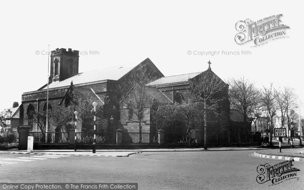 Photo of Tynemouth, Church of the Holy Saviour c1955, ref. t142050