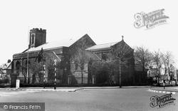Tynemouth, Church Of The Holy Saviour c.1955