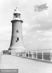 Tynemouth, Lighthouse c.1955