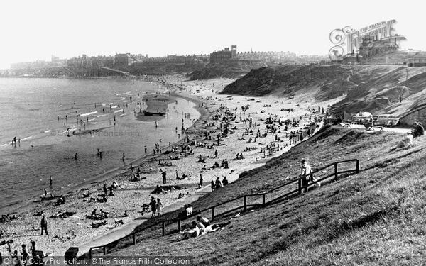 Photo of Tynemouth, Longsands c1955, ref. t142045