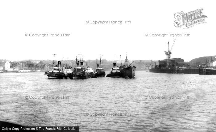 Photo of Tynemouth, River Tyne c1955, ref. t142067