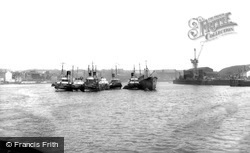 Tynemouth, River Tyne c.1960