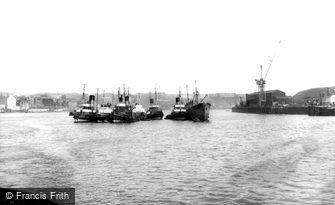 Tynemouth, River Tyne c1960