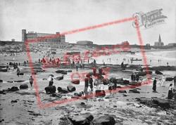 The Aquarium And Sands c.1890, Tynemouth