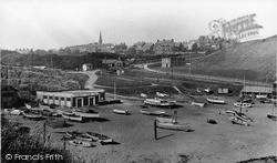 Tynemouth, The Beach c.1955