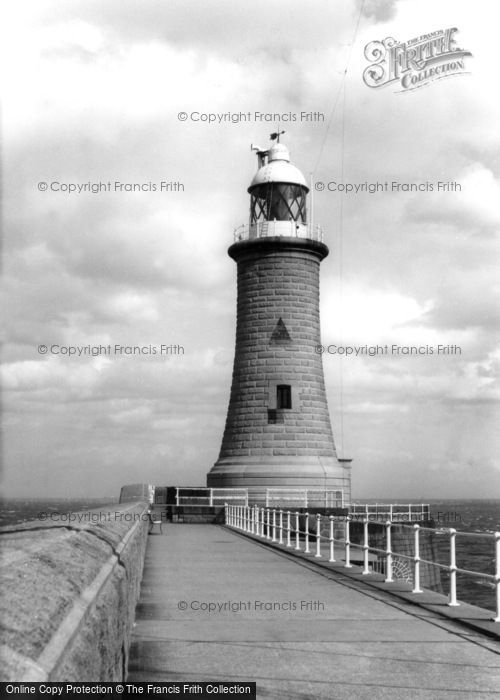 Photo of Tynemouth, the Lighthouse c1955, ref. t142051