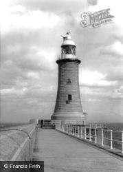 Tynemouth, The Lighthouse c.1955