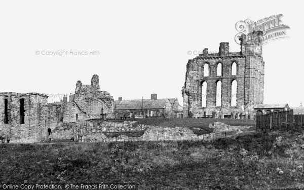 Photo of Tynemouth, the Priory c1955, ref. t142046