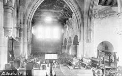 Tywyn, Church Interior 1892