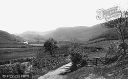 Tywyn, Happy Valley, On The Old Tywyn Road 1892