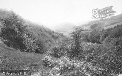 Tywyn, Happy Valley, View Near Curtpennal 1892