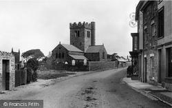 Tywyn, St Cadfan's Church 1892