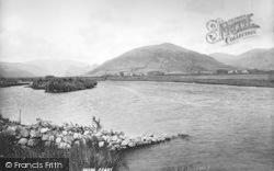 Tywyn, The Dysynni River, Craig Aderyn And Cader Idris 1895