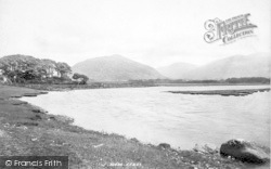 Tywyn, The River Dysynni 1895