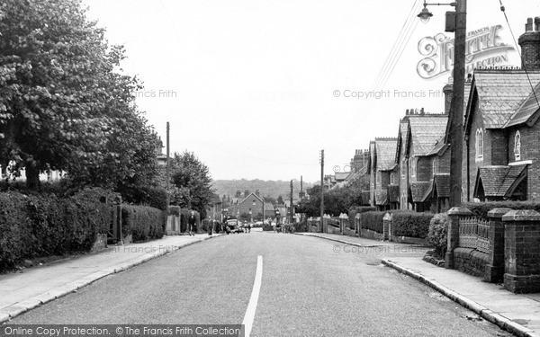 Uckfield, Framfield Road C.1955
