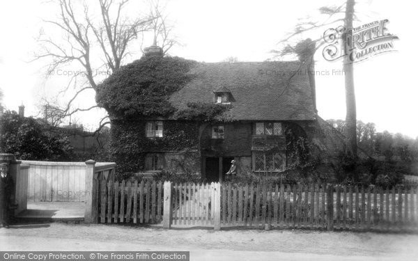 Uckfield, Old Cottage 1902