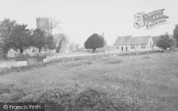 Church And School c.1960, Uffington