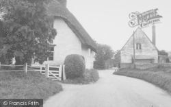 Uffington, The Old School House c.1955