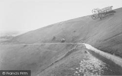 The White Horse c.1960, Uffington